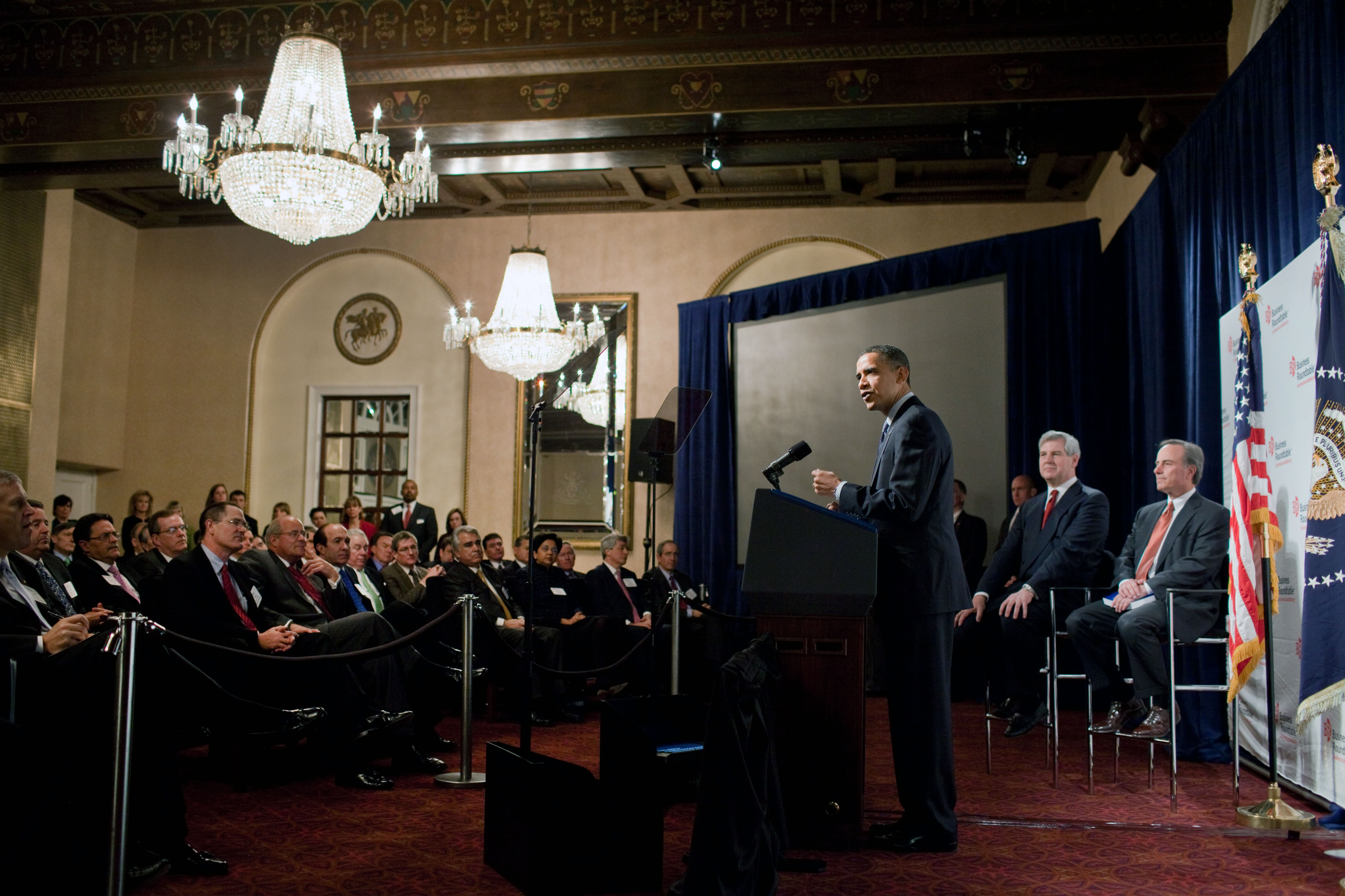 President Obama at Business Roundtable 02.24