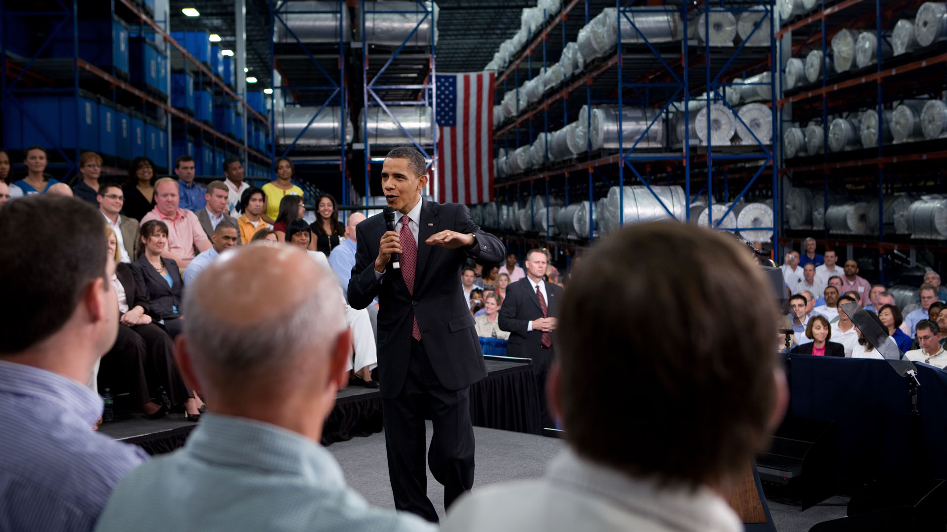 President Obama Speaks at Celgard Inc.