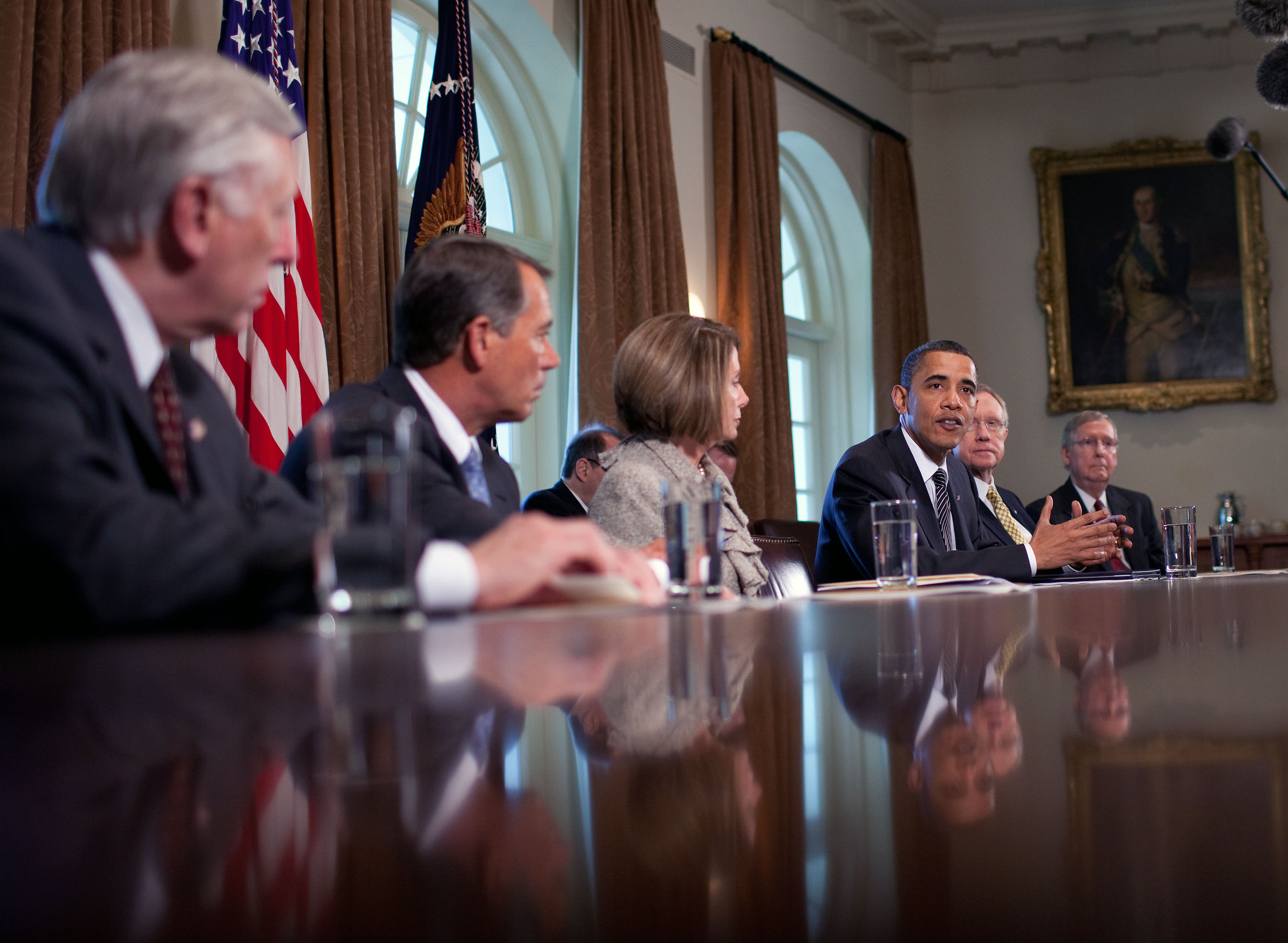 President Barack Obama Discusses Wall Street Reform