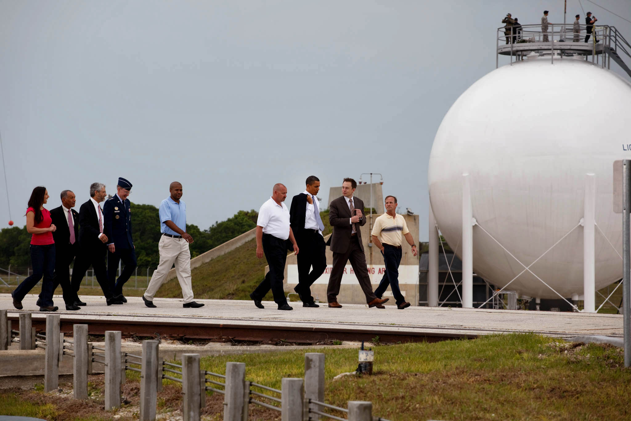 President Barack Obama at the Kennedy Space Center