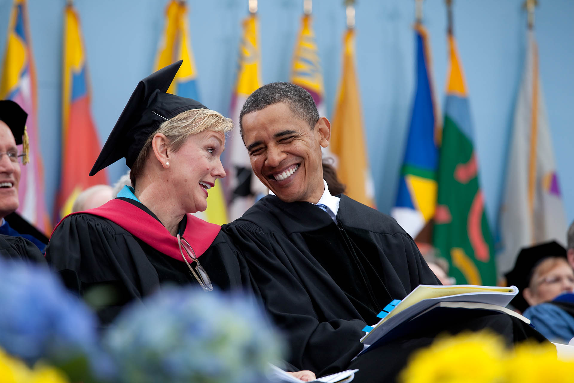President Obama and Michigan Governer Granholm