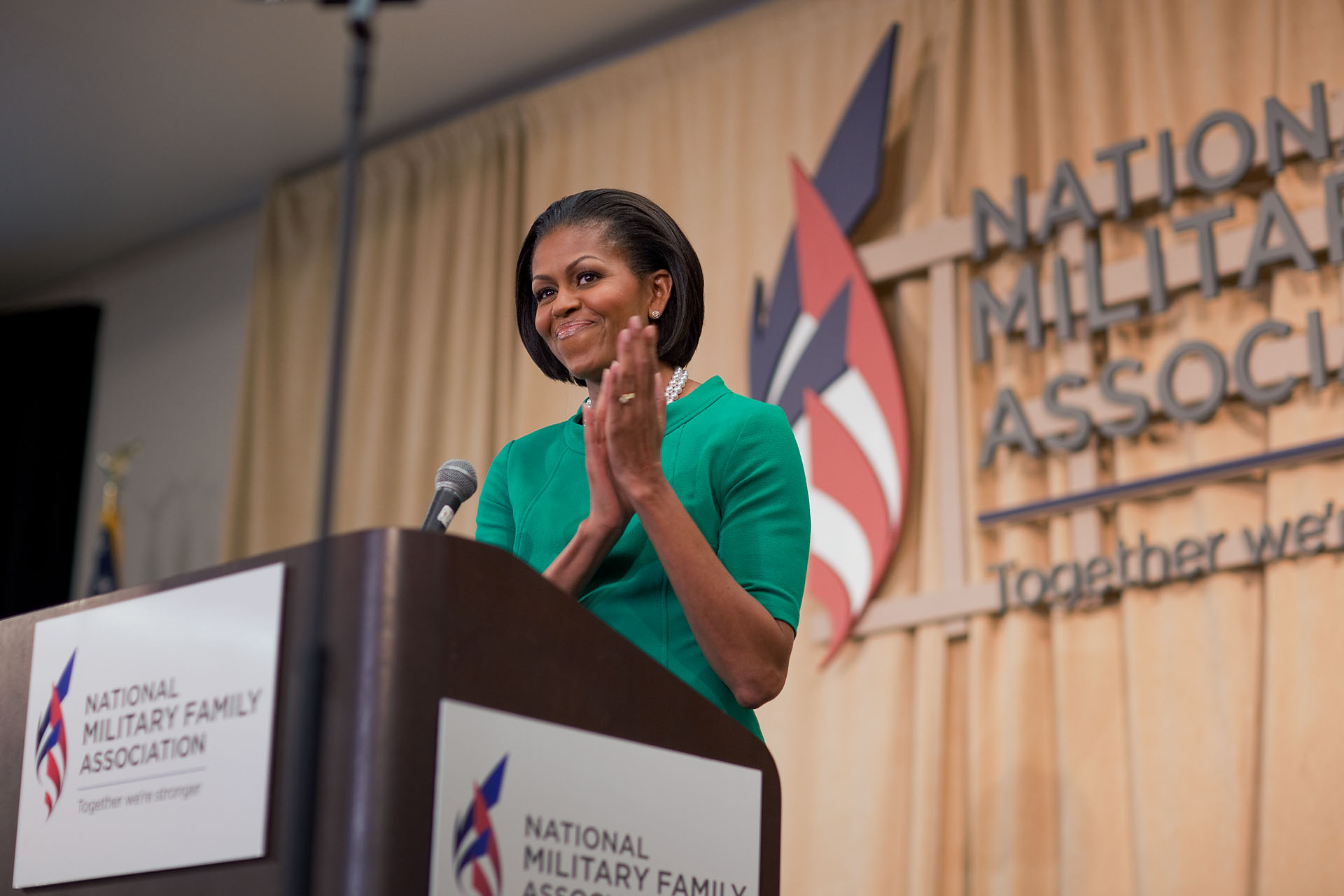 First Lady Speaks to National Military Family Association