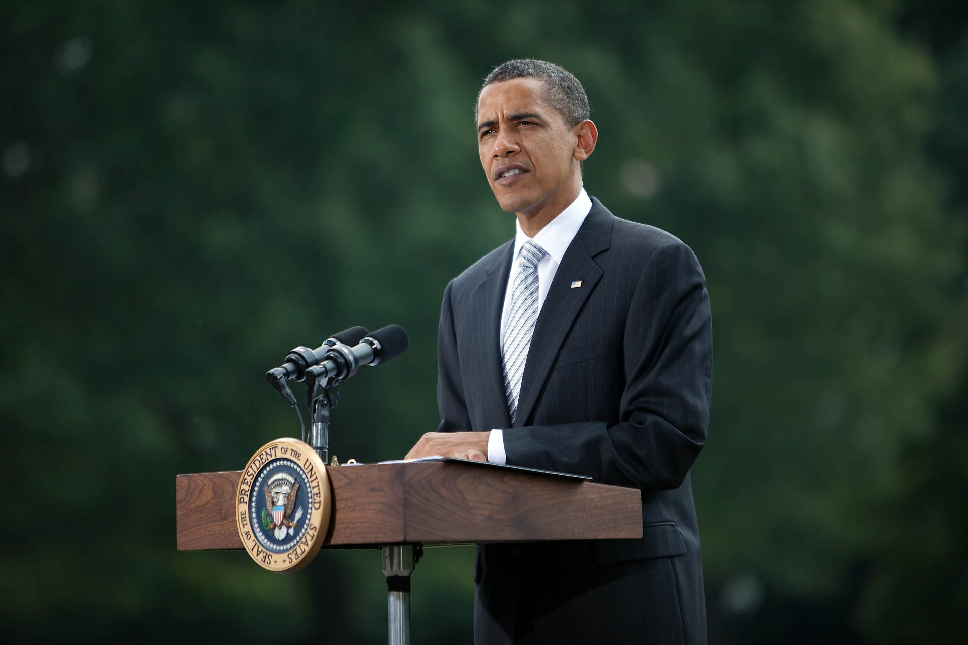 President Obama speaks on the economy and jobs