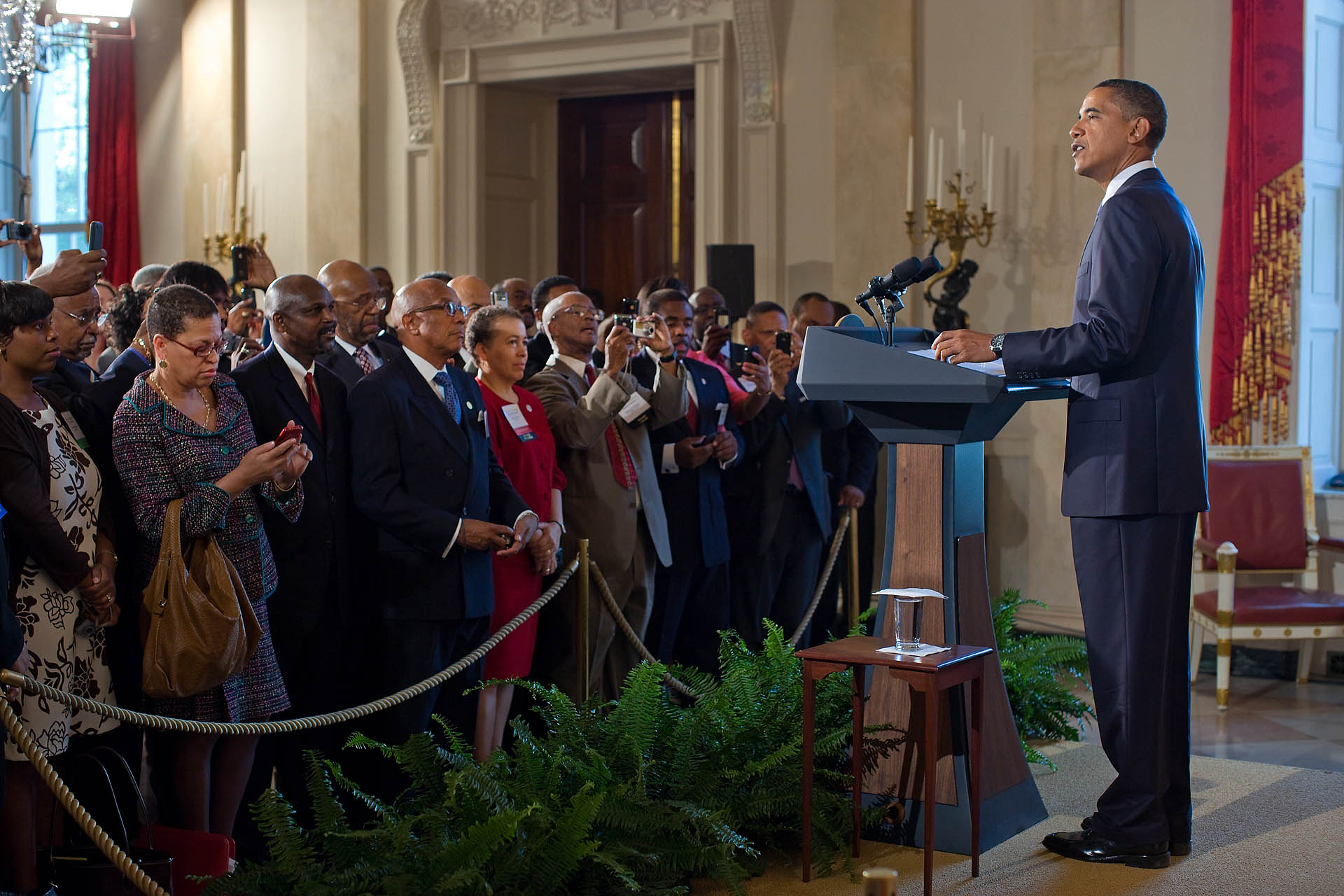 President Obama at HBCU Reception