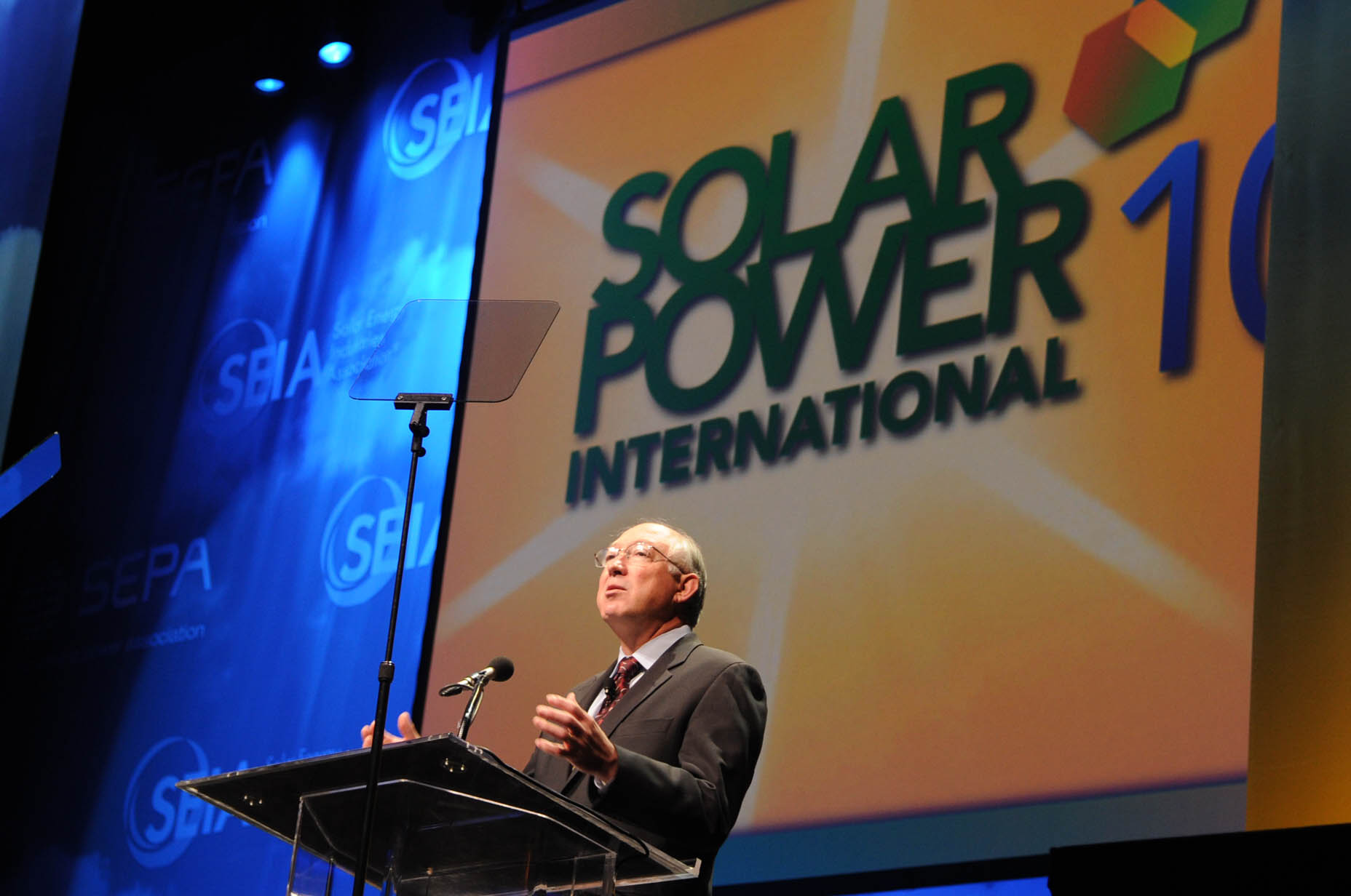 Secretary Salazar at Solar Meeting