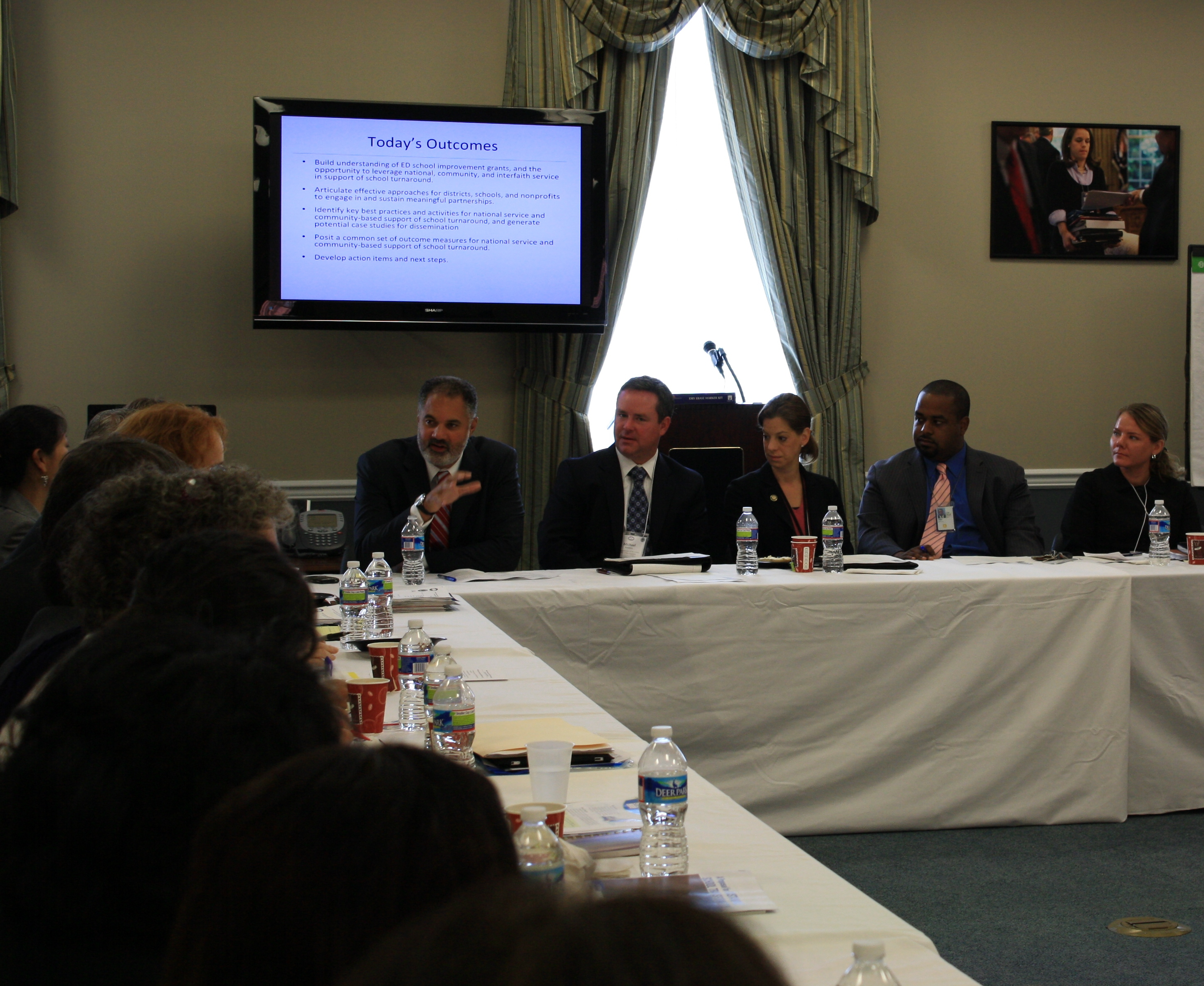 White House Convening on Community Organizations and Low-Performing Schools