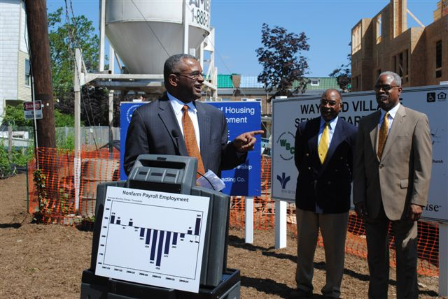 HUD Deputy Secretary Ron Sims in Baltimore