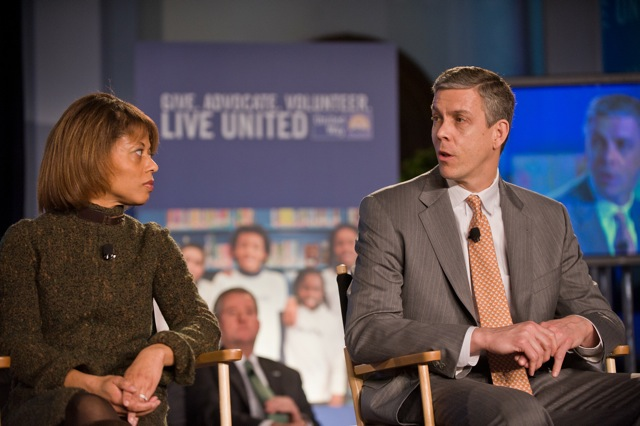 United Way Town Hall event, Melody Barnes