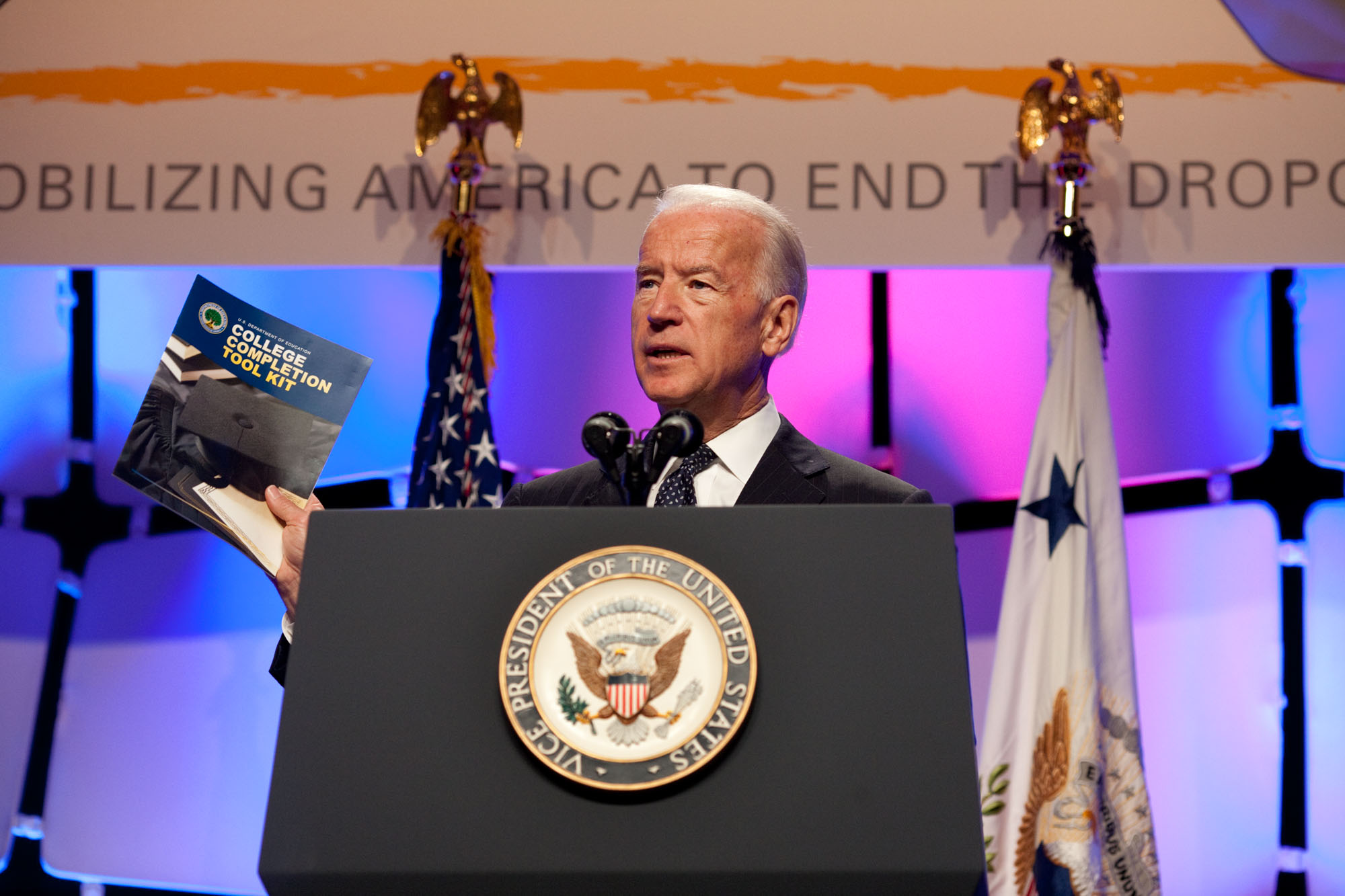 Vice President Biden Speaks at the Grad Nation Conference