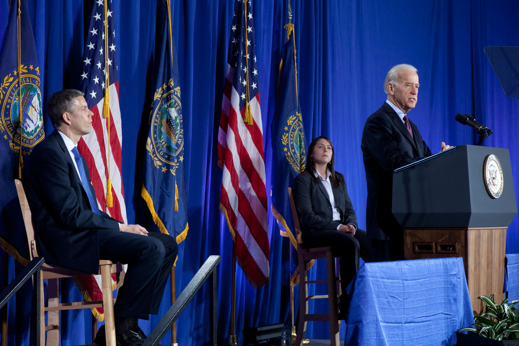 Vice President Joe Biden at University of New Hampshire