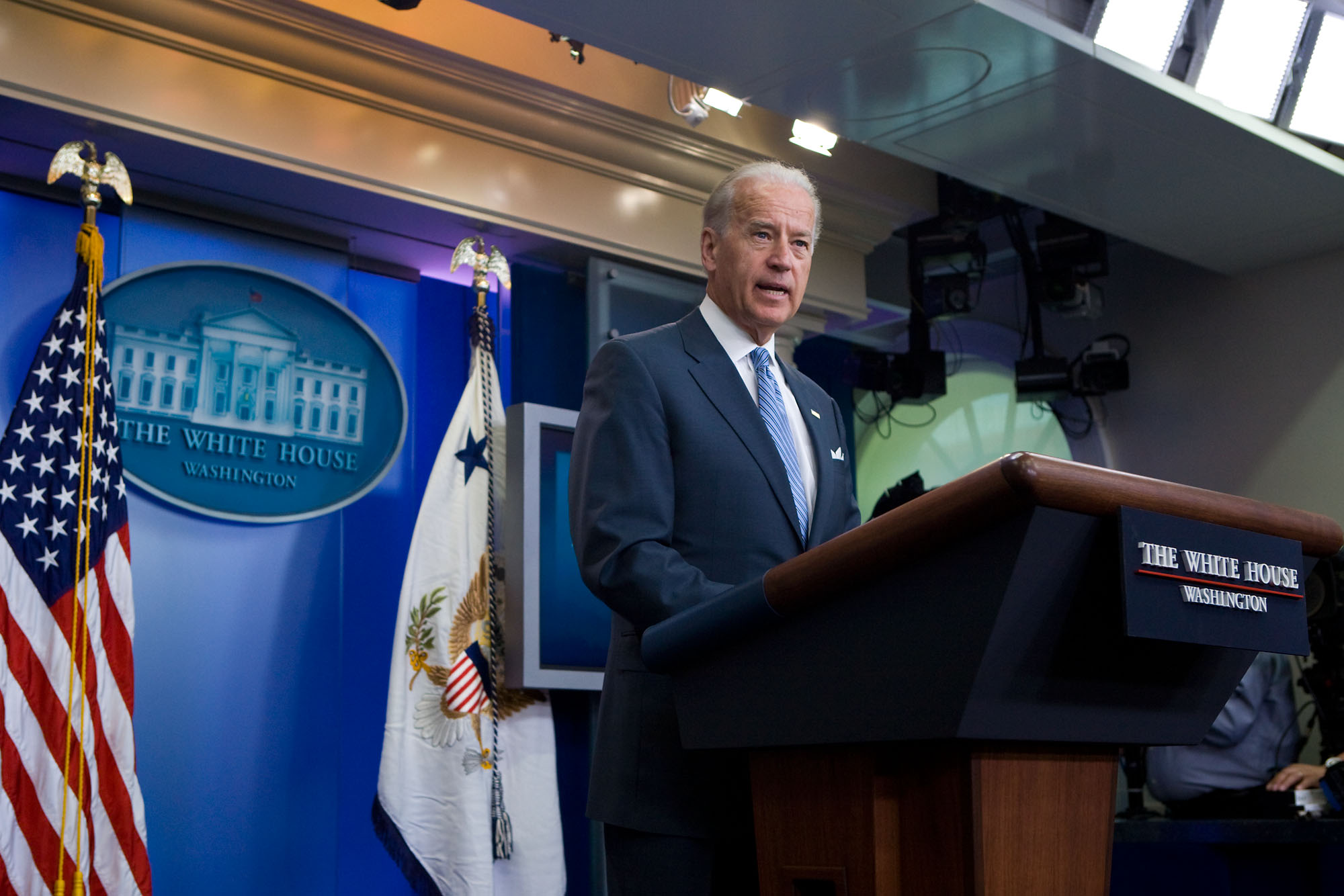 Vice President Gives Statement about Death of al Qaeda Iraq Leaders