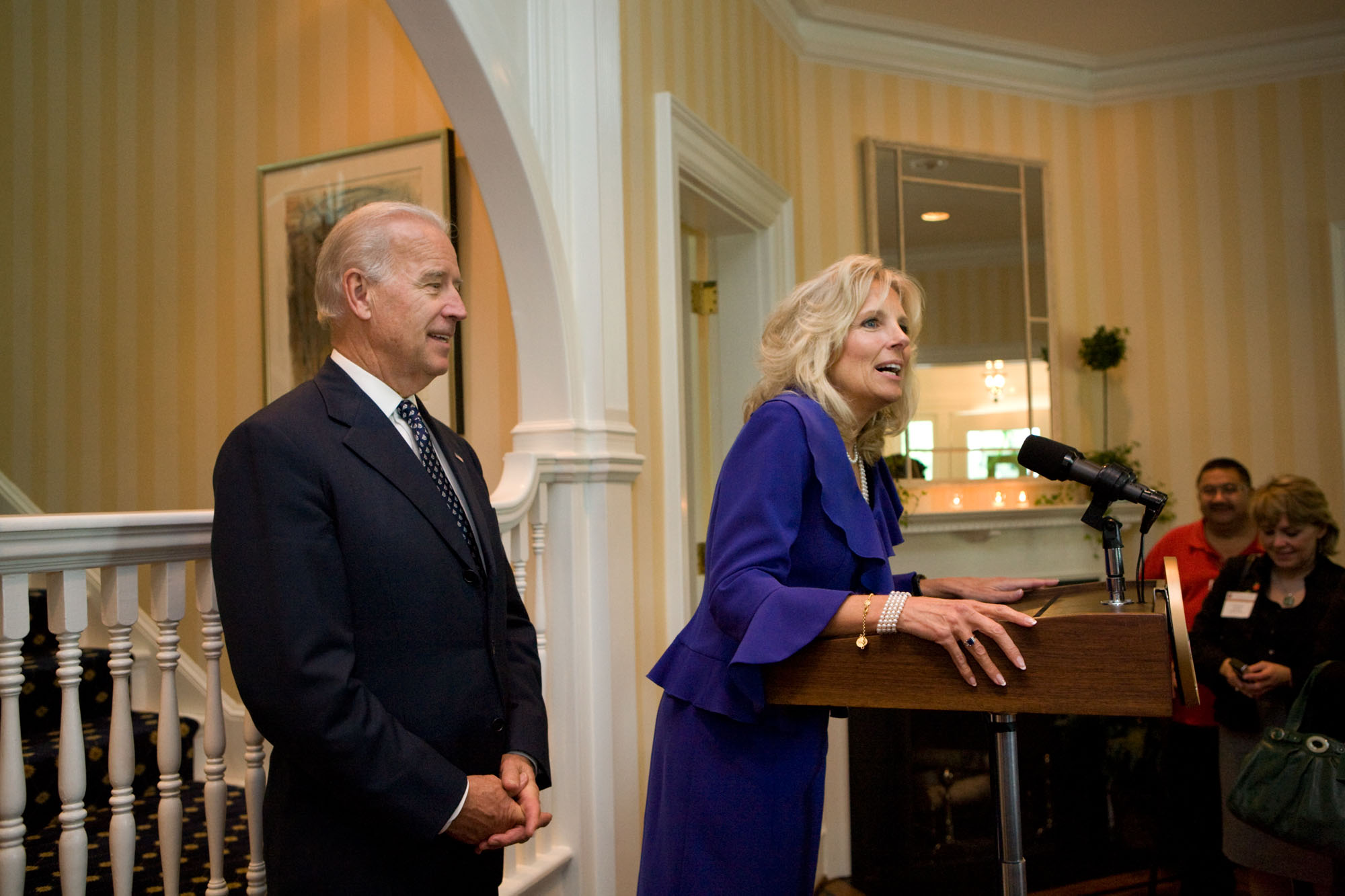 Dr. Biden at 2010 National Teachers of the Year Reception