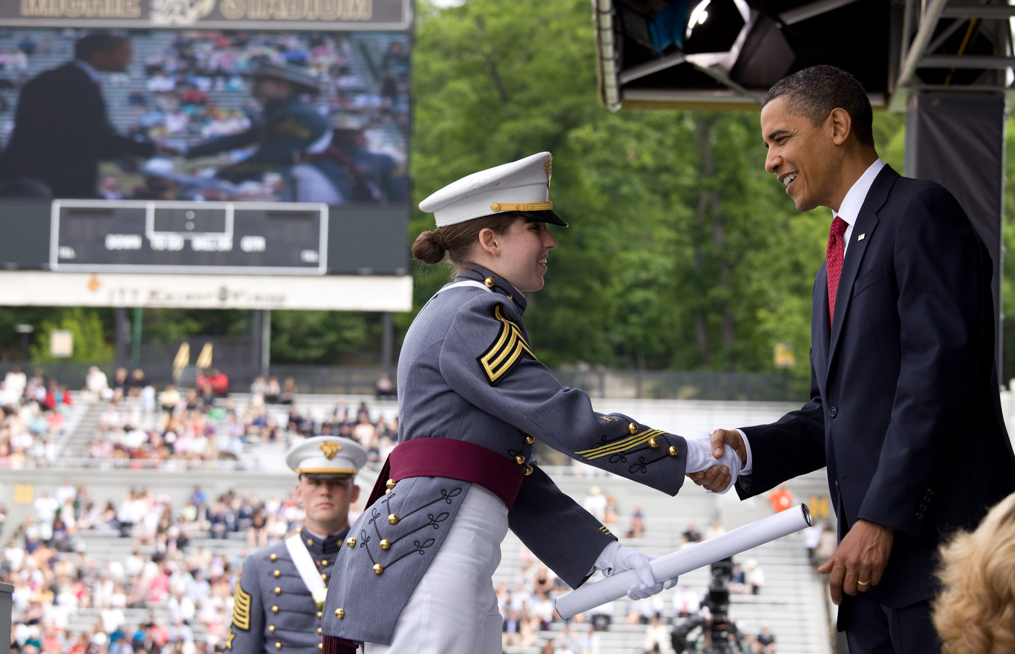 President Obama at West Point Commencement