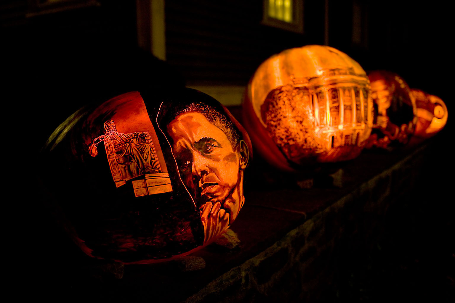 Presidents and Pumpkins