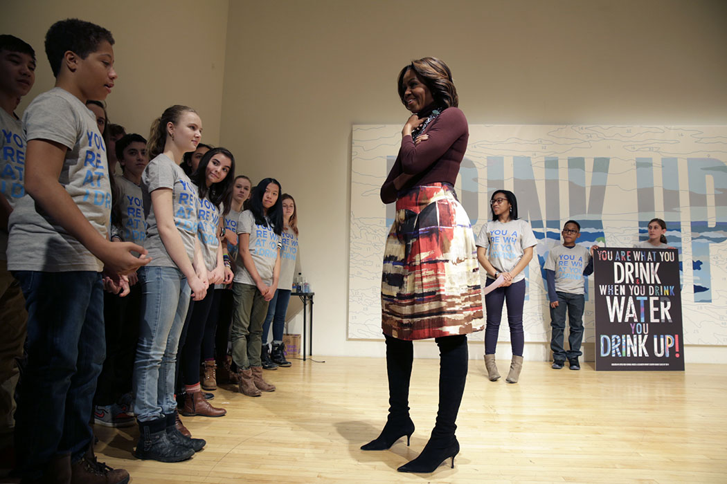First Lady Michelle Obama at WAT-AHH event