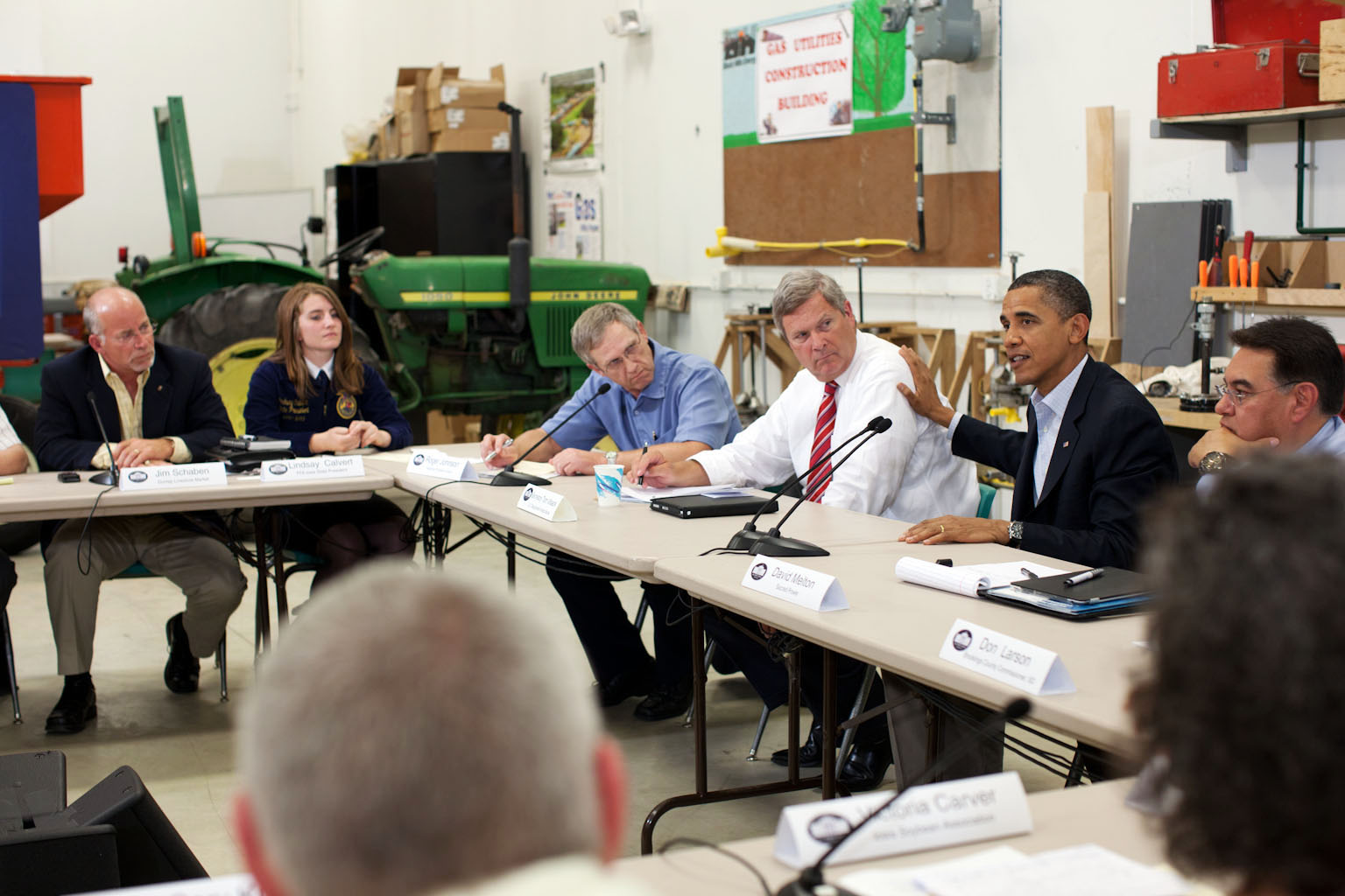 President Obama and Agriculture Secretary Vilsack