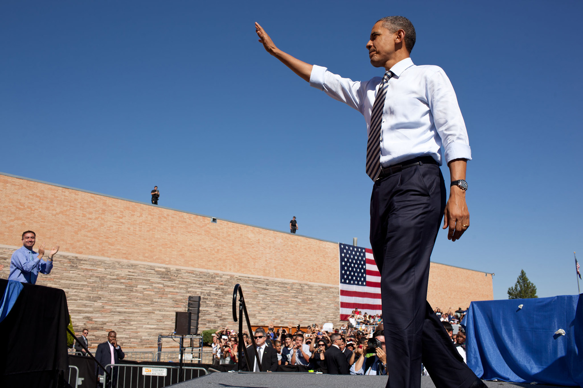 President Obama on the American Jobs Act in Denver