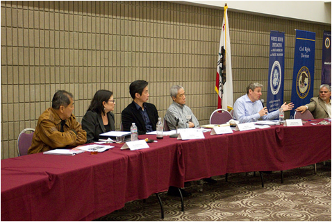 Listening session with AAPI workers held in Carson City, California, on Jan. 22, 2015