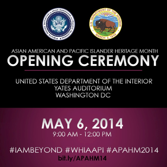 AAPI Opening Ceremony Flyer