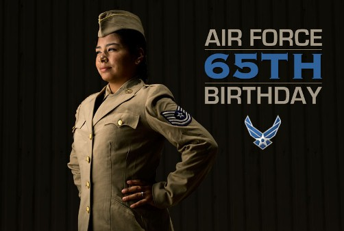 Air Force 65th Birthday