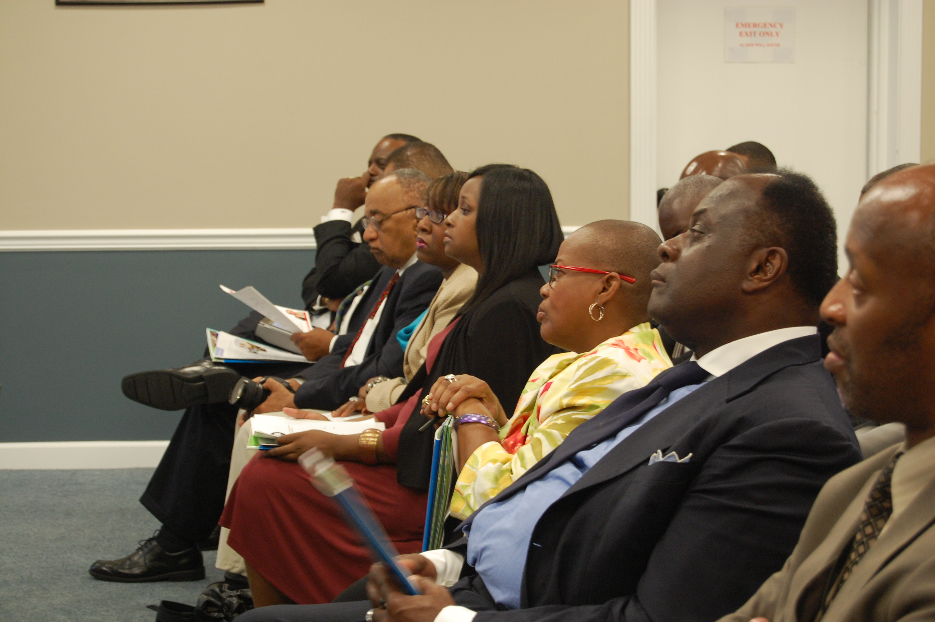Audience at Sickle Cell Roundtable