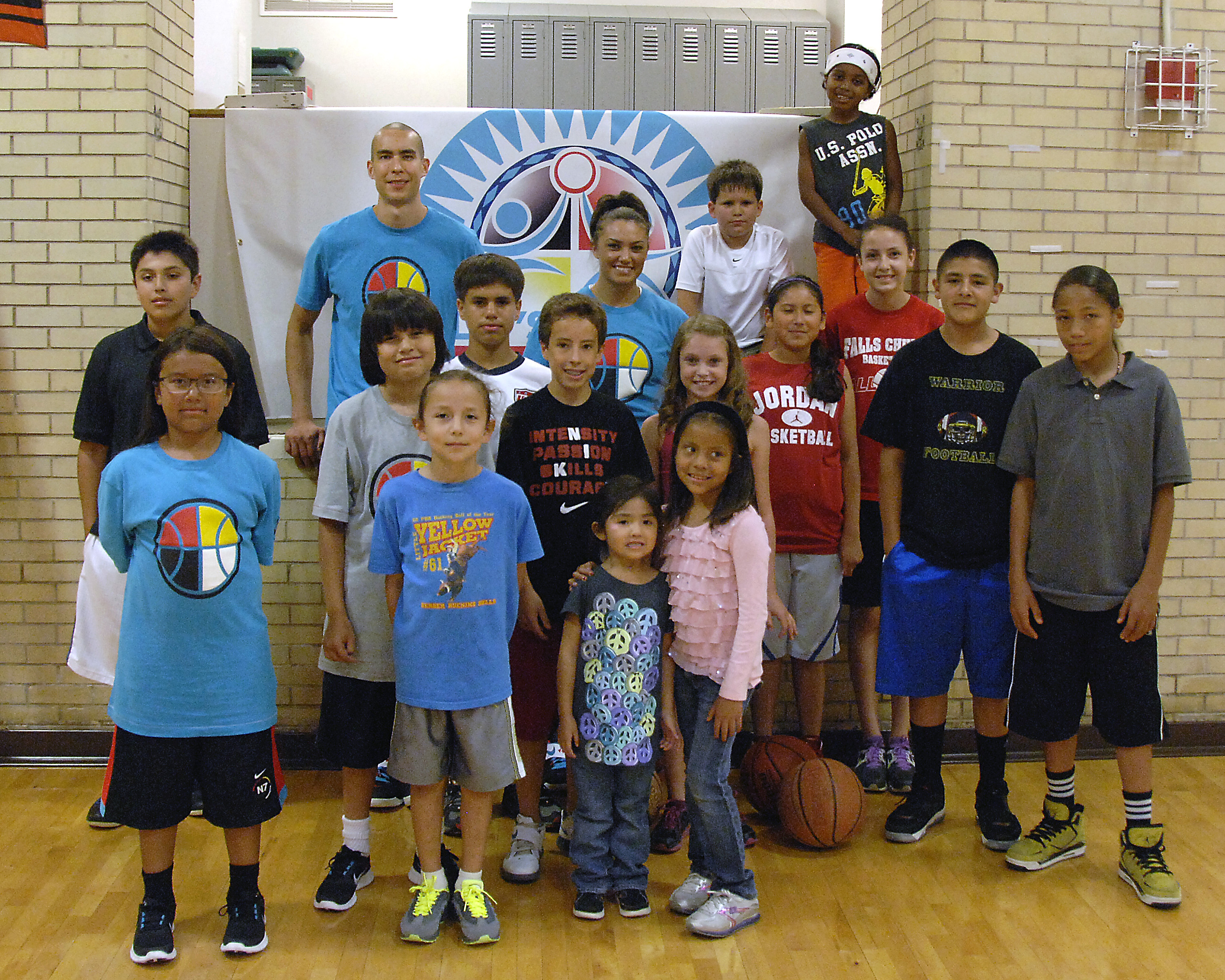 LMIC Youth Basketball Clinic at the U.S. Department of the Interior