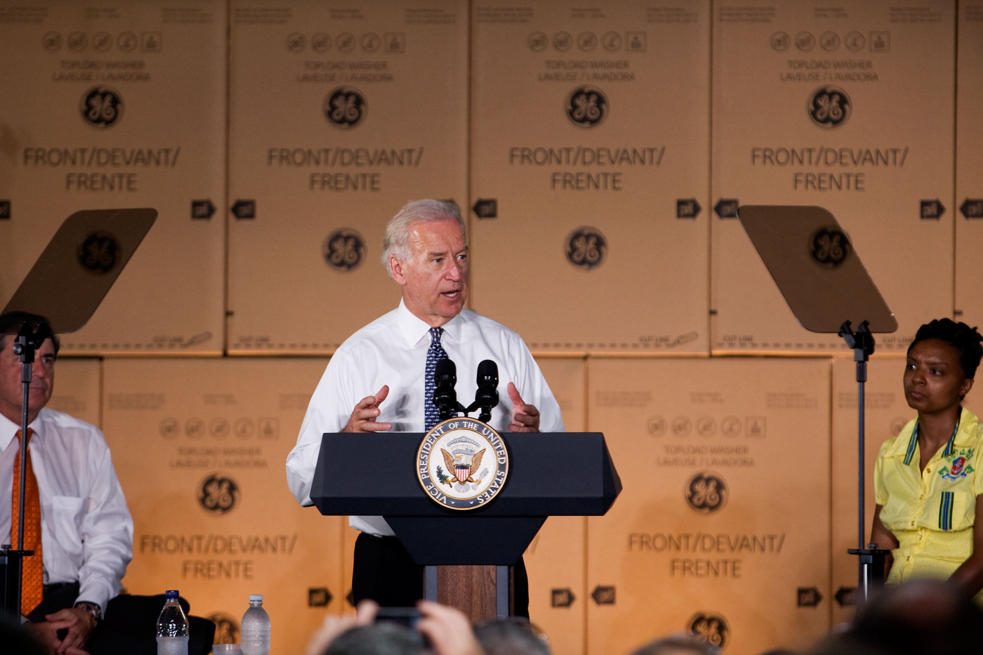 Vice President Biden Speaks at GE Appliances & Lighting in Louisville, Kentucky