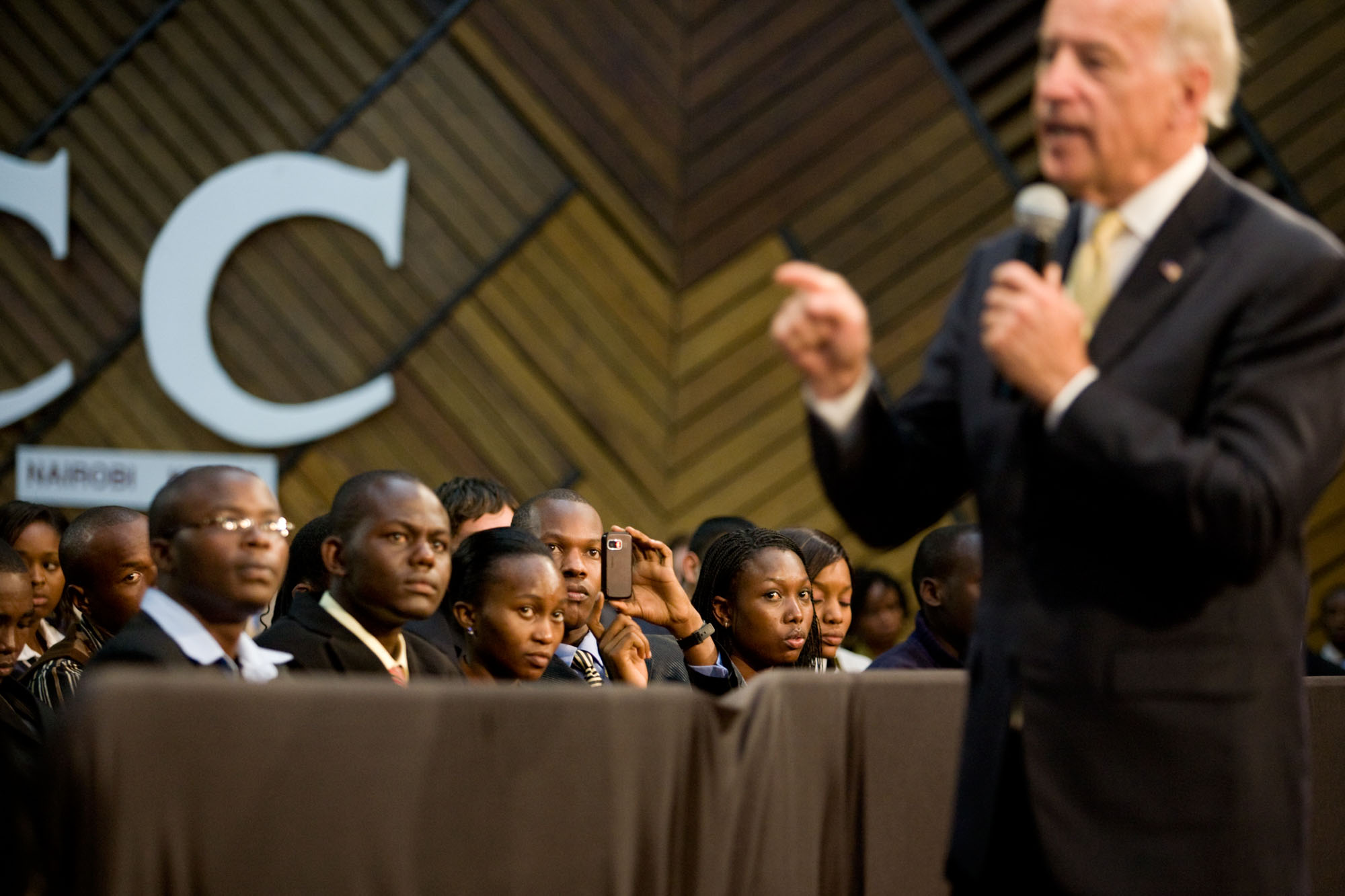 Vice President Joe Biden Speaks to Students in Kenya