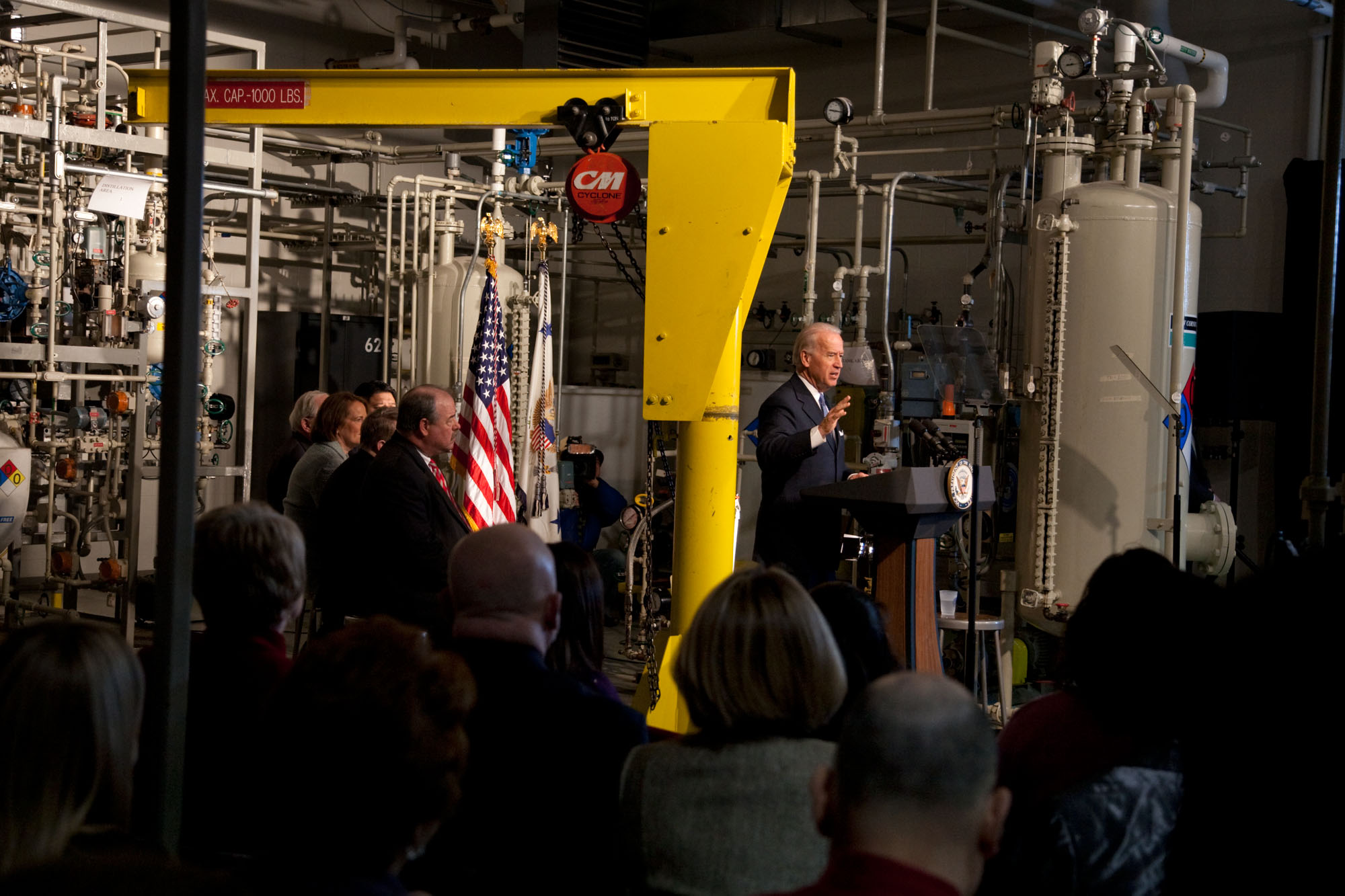Vice President Biden at a Factory in Saginaw, Michigan