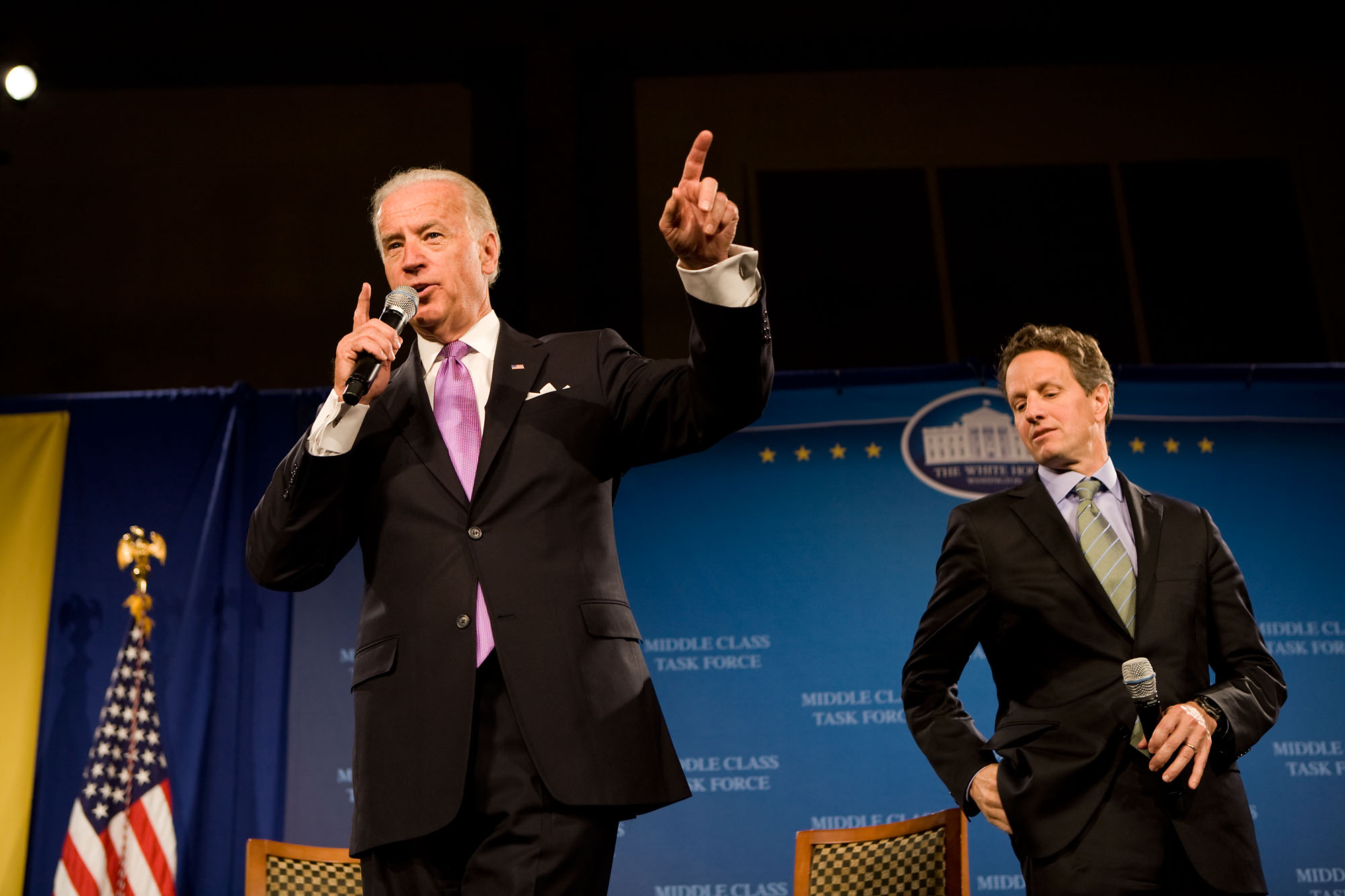Vice President Biden Talks Wall Street Reform in Milwaukee