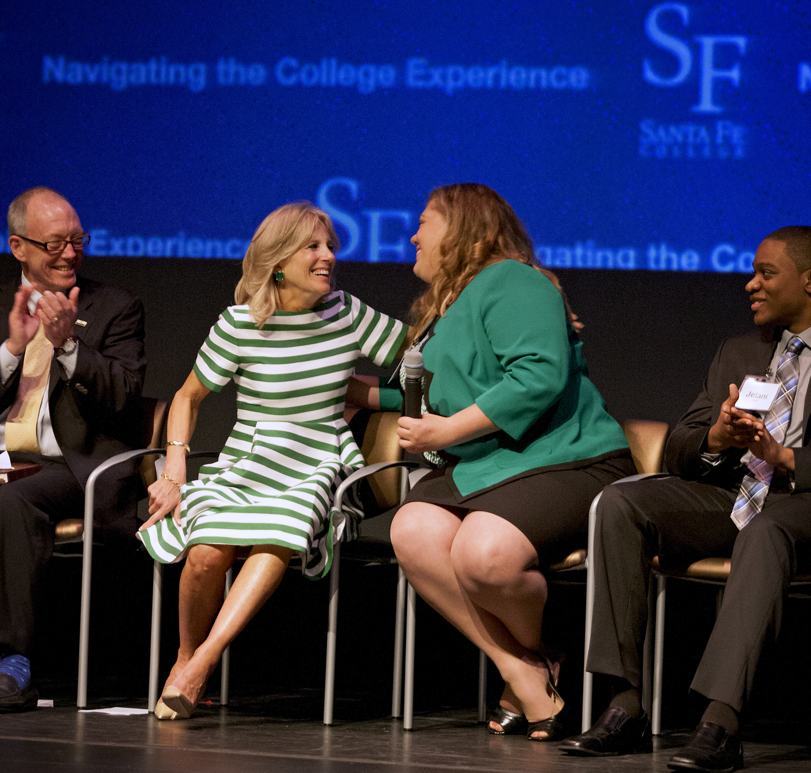 Dr. Jill Biden at Gainesville Community College