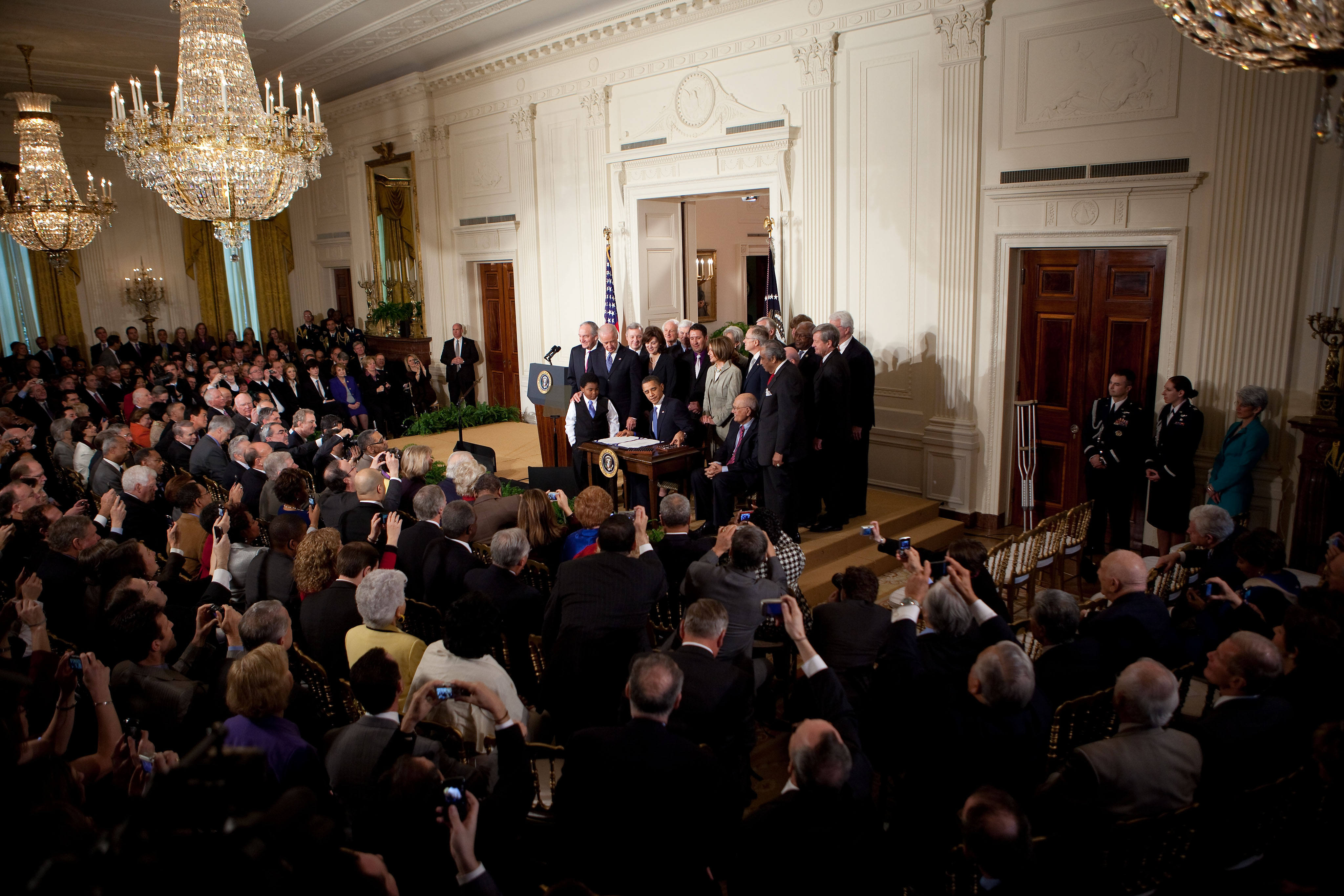 President Obama Signs Health Reform Bill
