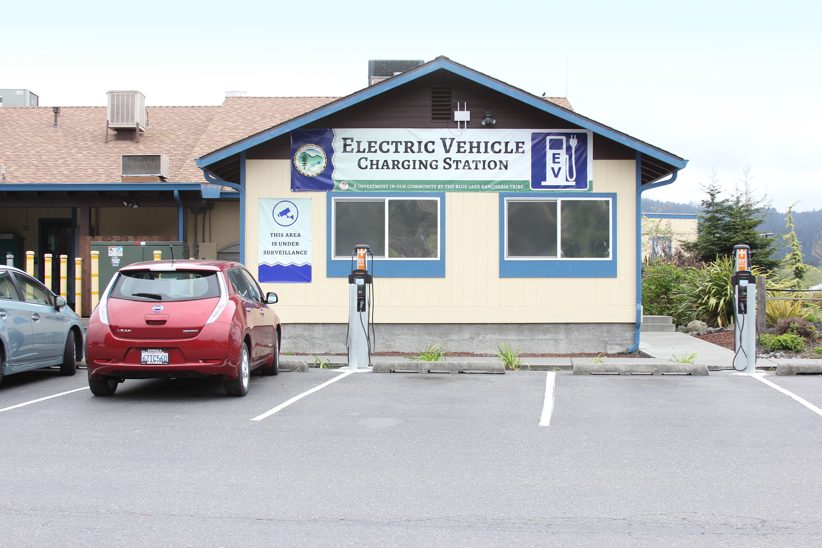Blue Lake Rancheria: Electric Vehicle Charging Stations