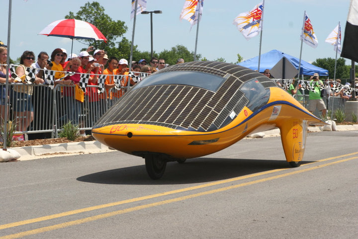 Solar Challenge - Third Place
