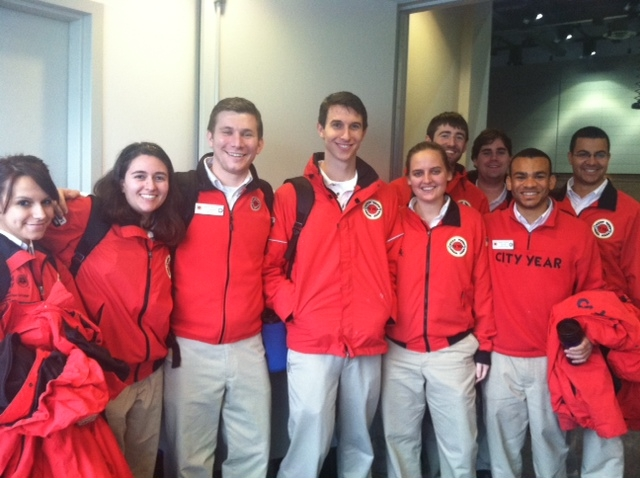 Chicago City Year at Connecting Communities for the Common Good