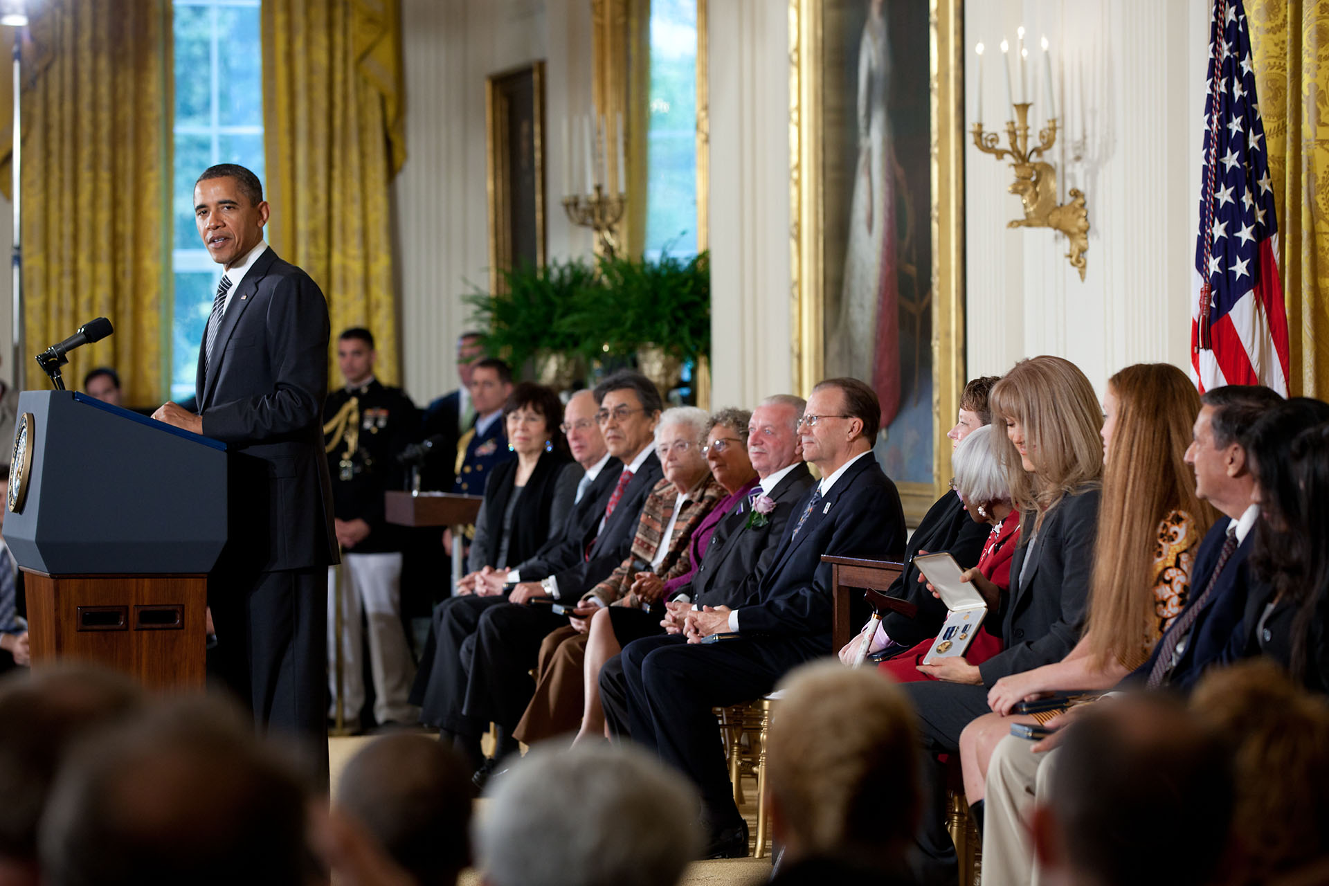President Obama Honors 2011 Citizens Medal Recipients Whitehouse