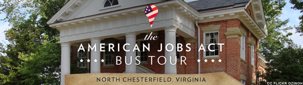 2011 AJA Bus Tour Chesterfield