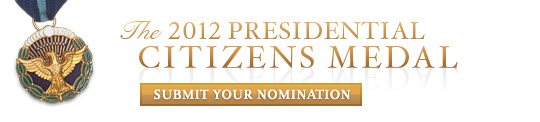 Citizens Medal 2012 Nomination