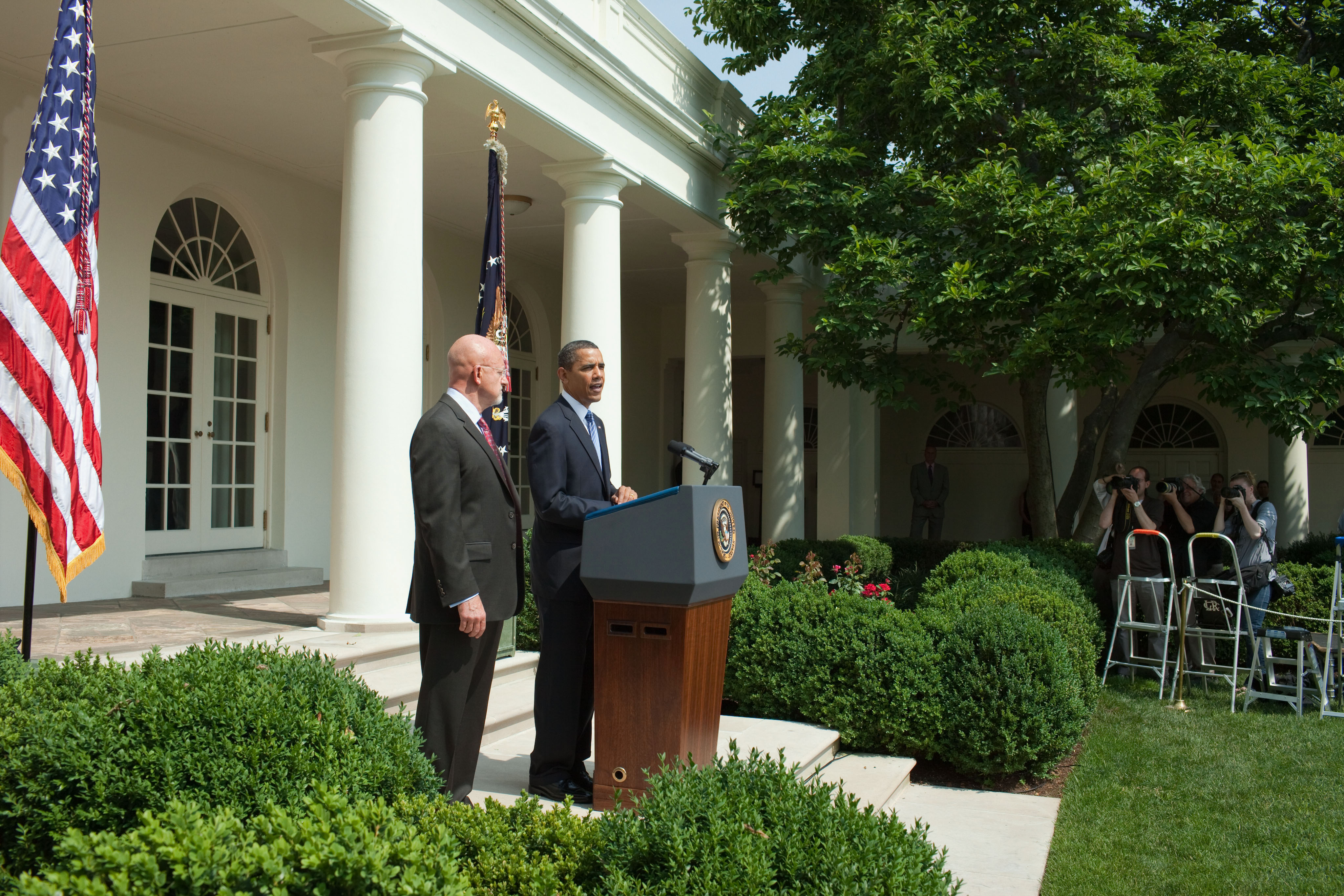 President Obama Announces James R. Clapper Jr. as Director of National Intelligence