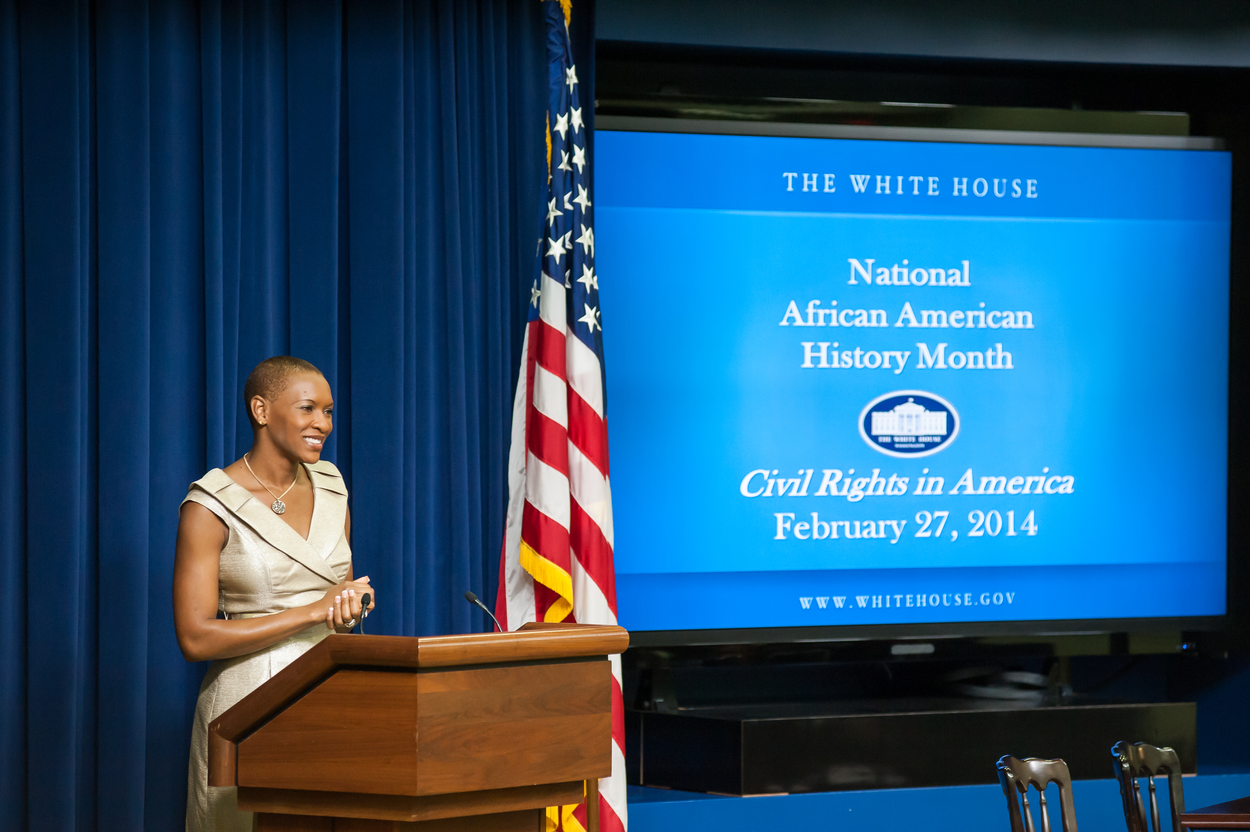 Claudia Gordon Delivers Remarks at Last Week's Event