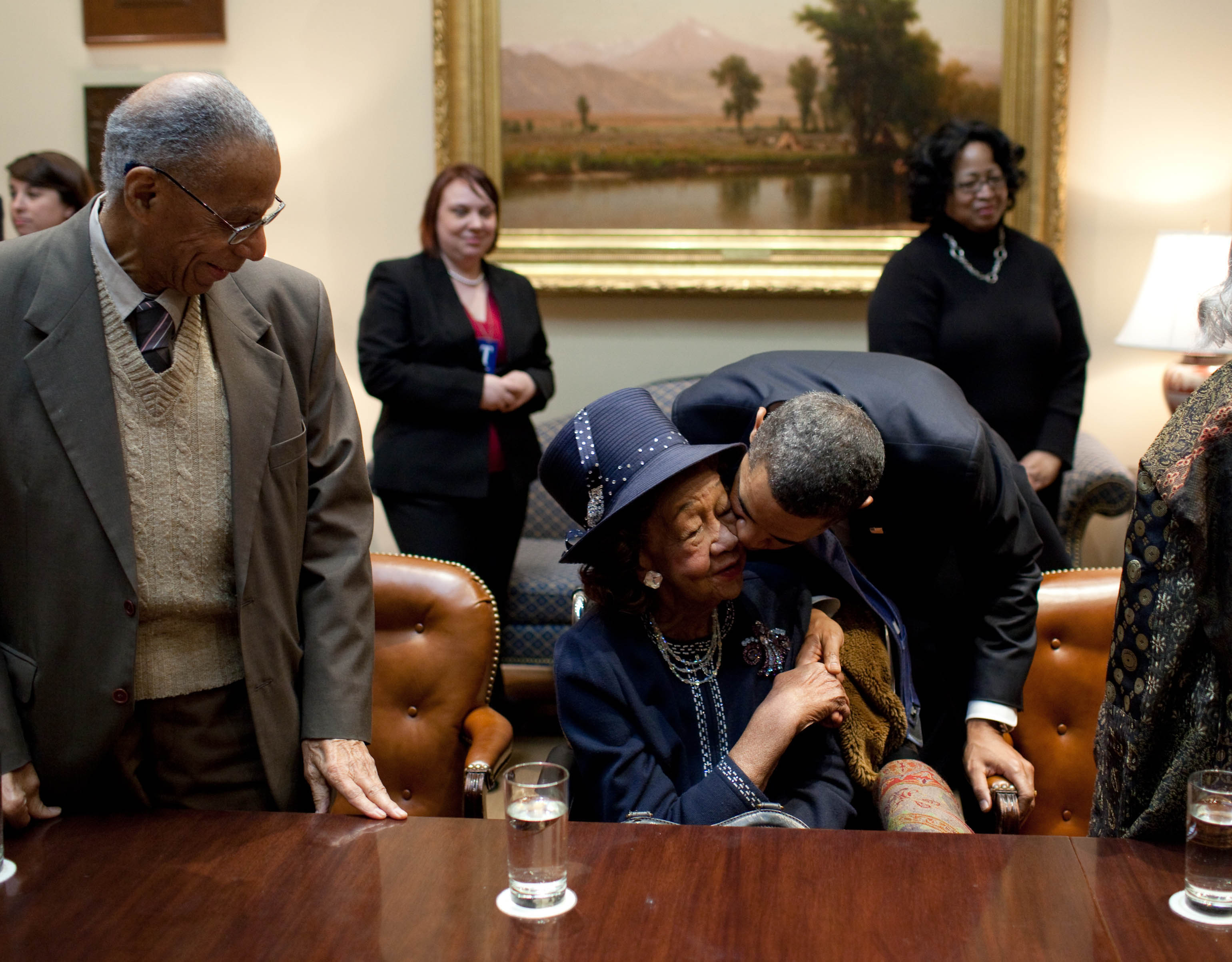 A Kiss for Dorothy Height
