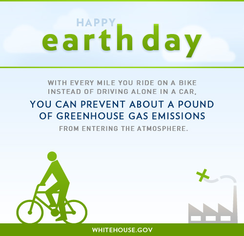 Earth Day Ride a Bike
