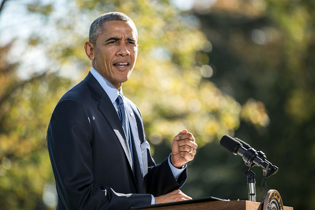 President Obama Provides an Update on Our Response to Ebola in West Africa