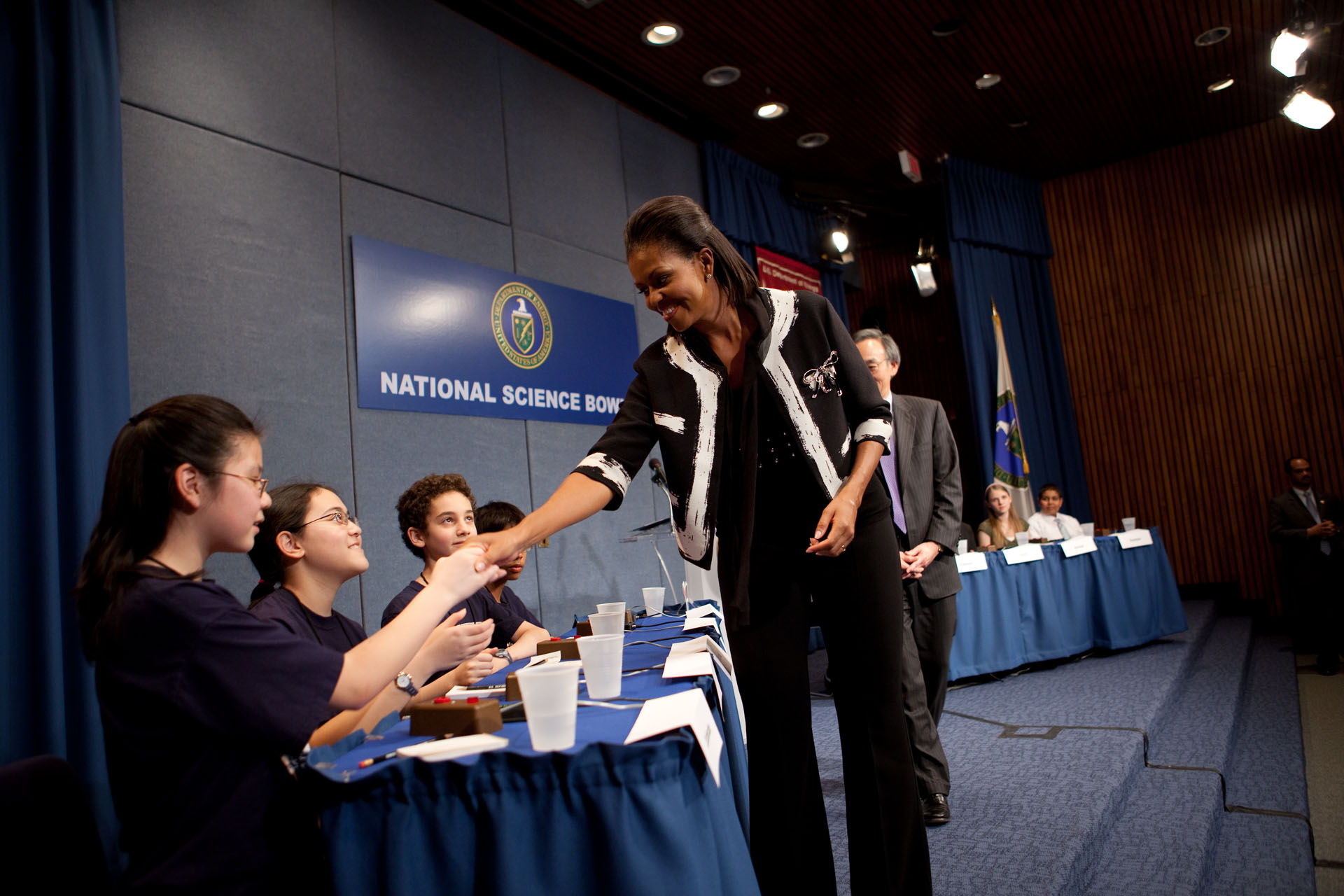 First Lady Michelle Obama at Dept. of Energy