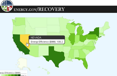 Energy Recovery Map