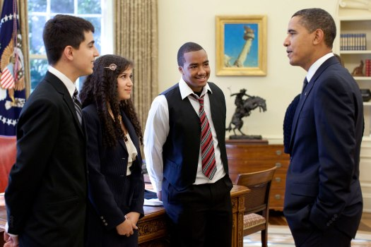 President Obama and Entrepeneur Challenge Winners