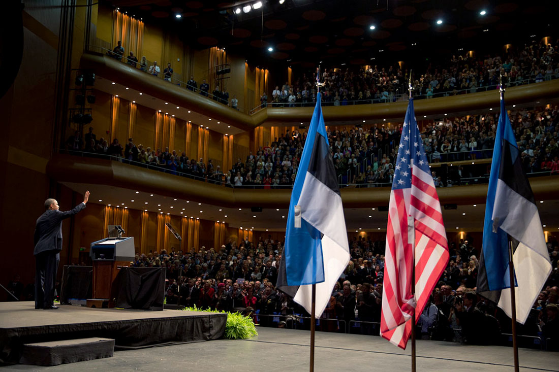 President Obama Speaks to the People of Estonia