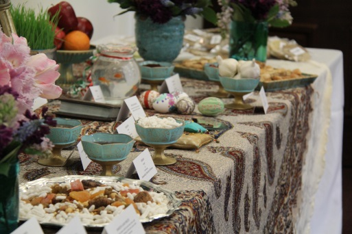 Haft-Seen Table for Nowruz Celebrations