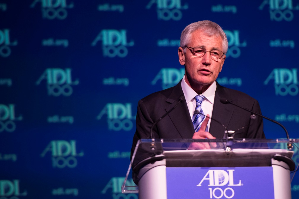 Secretary Hagel Addresses the Jewish Commnunity