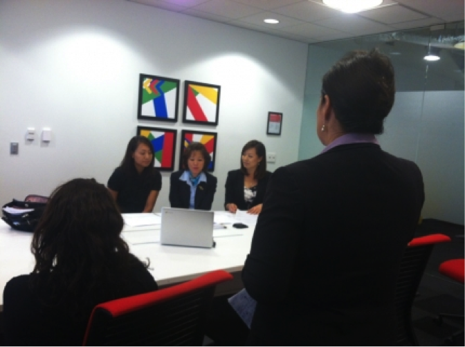 WHIAAPI hosts its first Google+ Hangout in Korean on the Health Insurance Marketplace, Sept. 27, 2013.